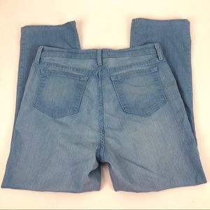NYDJ Jeans - NYDJ Straight Leg Custom Hem Jeans - Size 16